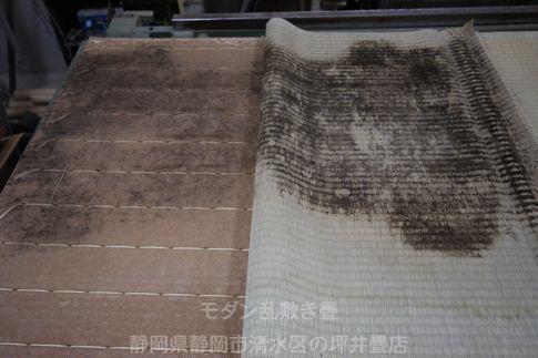 湿度が多すぎると畳の裏は・・